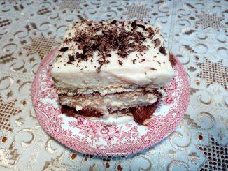Γλυκό ψυγείου με μπισκότα - Sweet Refrigerator with Biscuits