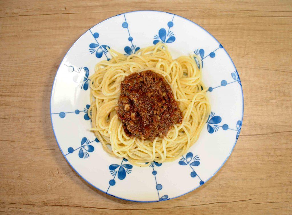 Μακαρόνια με κιμά - Spaghetti with Minced Meat