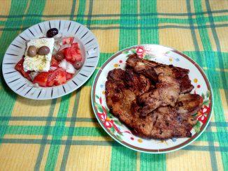 Πανσέτες χοιρινές τηγανιτές μαριναρισμένες - Pancakes of Fried Pork Marinated