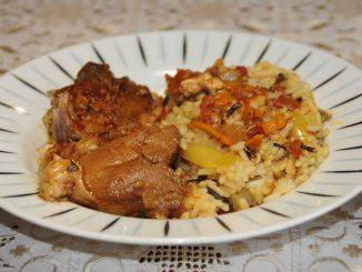 Αρνάκι με ρύζι - Lamb with Rice