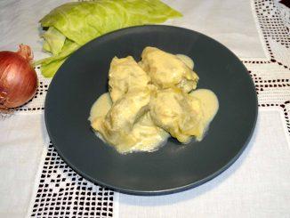 Λαχανοντολμάδες αυγολέμονο - Cabbage Roll with Egg-Lemon