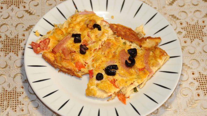 Ομελέτα στο φούρνο - Omelette in the oven