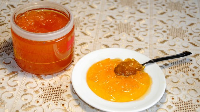 Πεπόνι μαρμελάδα - Melon jam