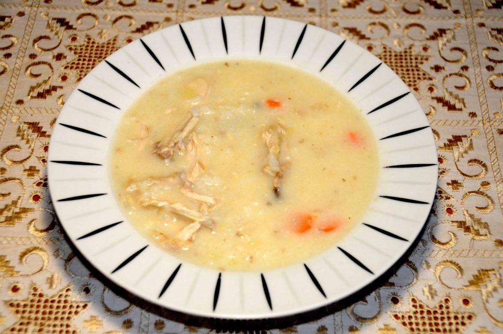 Κοτόσουπα με στήθος κοτόπουλου - Chicken soup with chicken breast