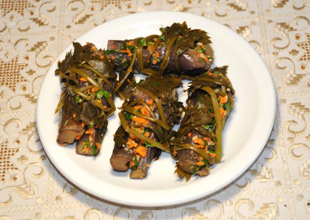 Μελιτζανάκι τουρσί - Eggplant pickled