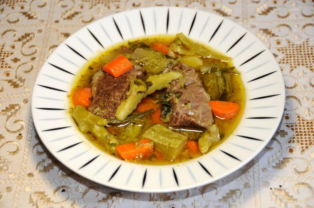 Μοσχαρόσουπα - Beef soup
