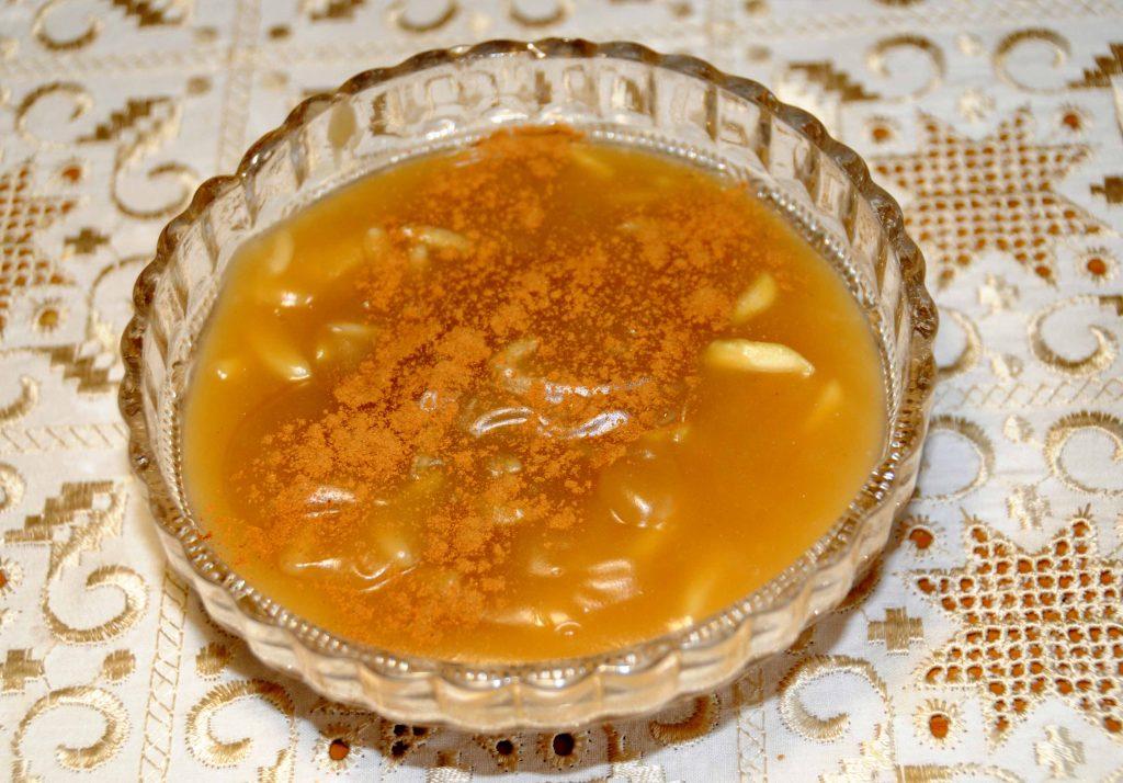 Μουσταλευριά - Grape Juice with Flour