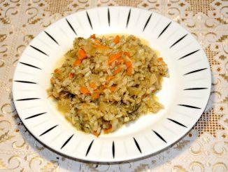Λαχανόρυζο με καρότο - Cabbage with rice and carrot