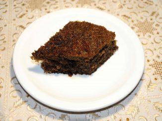 Παντεσπάνι με κακάο - Sponge cake with cocoa