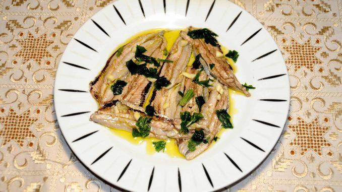 Σαρδέλες μαρινάτες - Sardines marinated