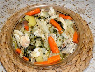 Κοκκινόψαρο σαλατα - Red fish salad