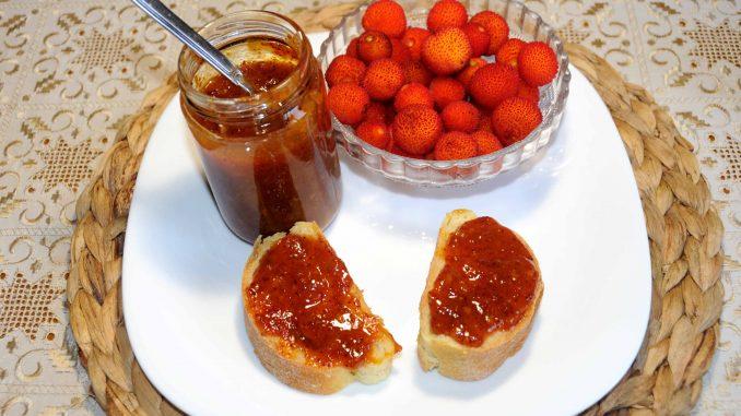 Κούμαρα μαρμελάδα - arbutus unedo jam
