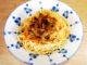 Χοιρινό λεμονάτο με μανιτάρια και μακαρόνια με καβουρδισμένη μυτζήθρα