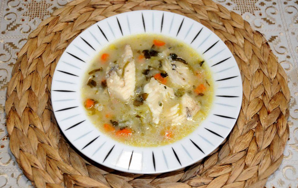 Ψαρόσουπα με κοκκινόψαρο - Fish soup with redfish