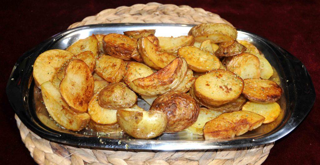 Πατάτες τηγανητές αλλιώς - Potatoes Fried Otherwise