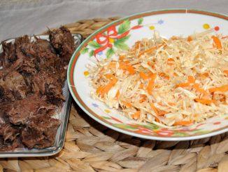 Βραστό μοσχάρι με λαχανικά - Boiled-veal with Vegetables