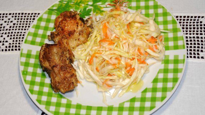Κοτόπουλο με σαλάτα - Chicken with Salad