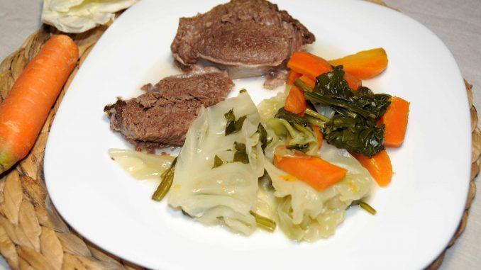 Μοσχάρι με λαχανικά - Beef with Vegetables