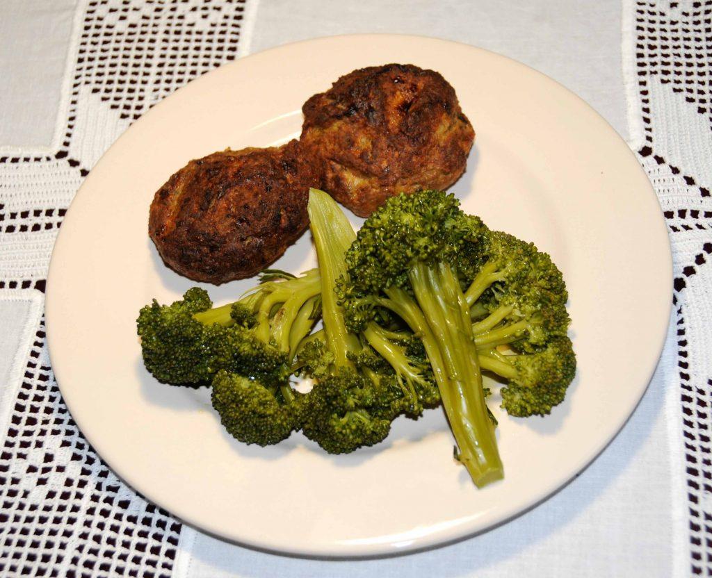 Μπιφτέκια με μπρόκολο - Broccoli burgers