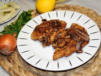 Σνίτσελ από στήθος γαλοπούλας - Schnitzel from Turkey Breast