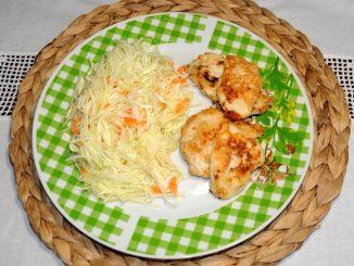 Στήθος κοτόπουλου με Λάχανο - Chicken Breast with Cabbage