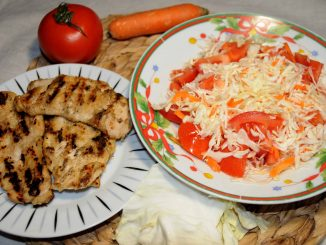 Στήθος κοτόπουλου με λαχανικά - Chicken Breast with Vegetables