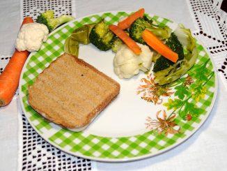 Τόστ γαλοπούλας με λαχανικά - Turkey Toast with Vegetables