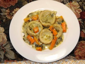 Αγκινάρες αλά πολίτα - Artichokes with carrot and lemon