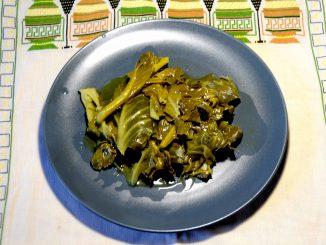 Λαχανίδες βραστές - Boiled Cabbage