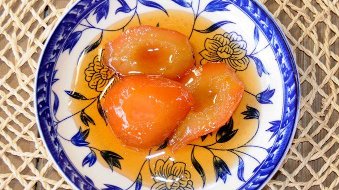 Γλυκό κουταλιού αχλάδι - Sweet Pear Preserve