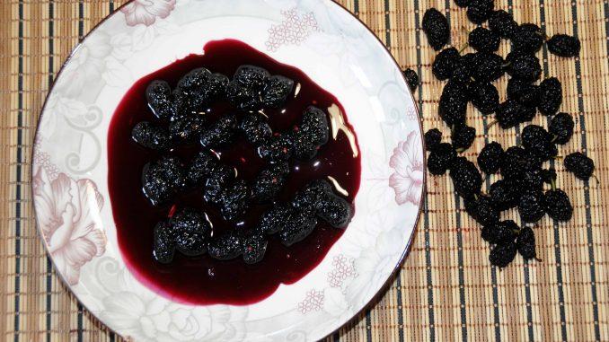 Γλυκό κουταλιού μαύρο Μούρο - Sweet of black berry Preserve