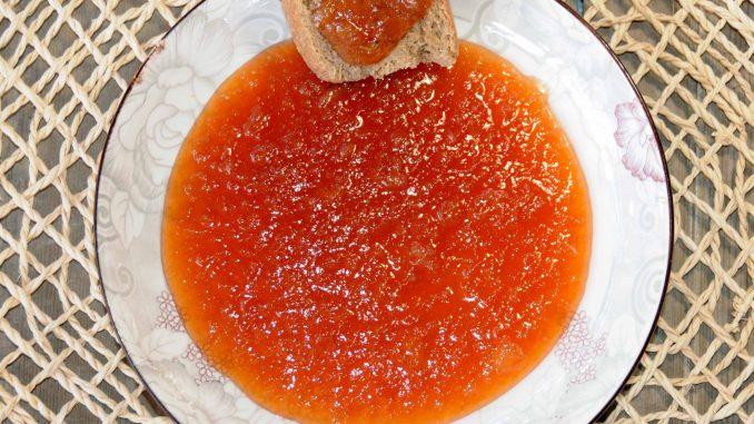 Μαρμελάδα αχλάδι - Pear jam