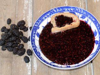 Μαρμελάδα μαύρο μούρο - Blackberry Jam