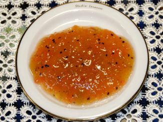 Μαρμελάδα με πεπόνι μούρο ακτινίδιο κυδώνι - jam with Quince kiwi Berry Melon