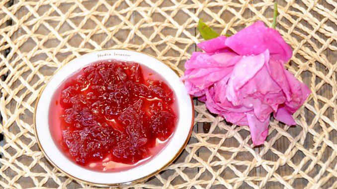 Μαρμελάδα τριαντάφυλλο - Rose jam
