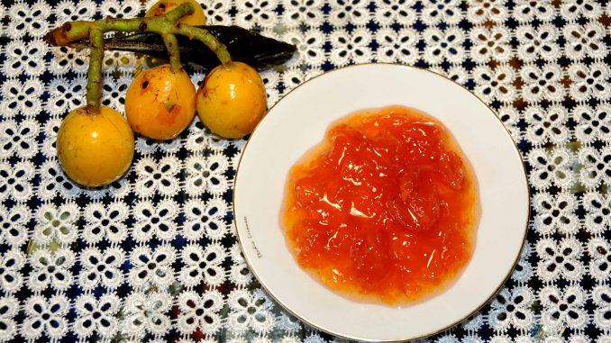 Μούσμουλα μαρμελάδα - Loquats Jam