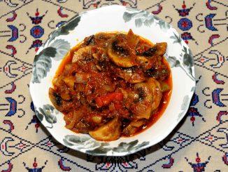 Σάλτσα μανιταριών - Mushroom Sauce