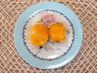 Γλυκό κουταλιού με Αμερικάνικους λωτούς Diospyros virginiana - Sweet Lotus Diospyros virginiana Preserve