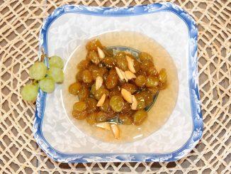 Γλυκό κουταλιού σταφύλι σταφίδα - Sweet Green Seedless Grapes Preserve