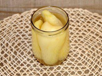 Κομπόστα αχλάδι ποικιλίας Αμπετ φελετ Abate Fetel - Compote Pear Abate Fetel
