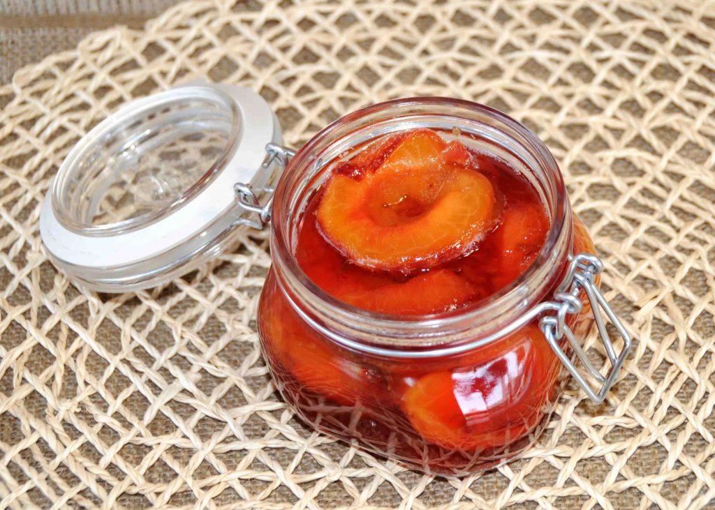 Κομπόστα βανίλια φρούτο - Compote Plum