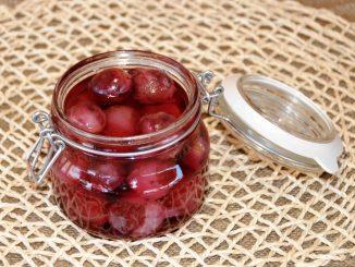Κομπόστα σταφύλι φράουλα - Compote Red Globe Grapes