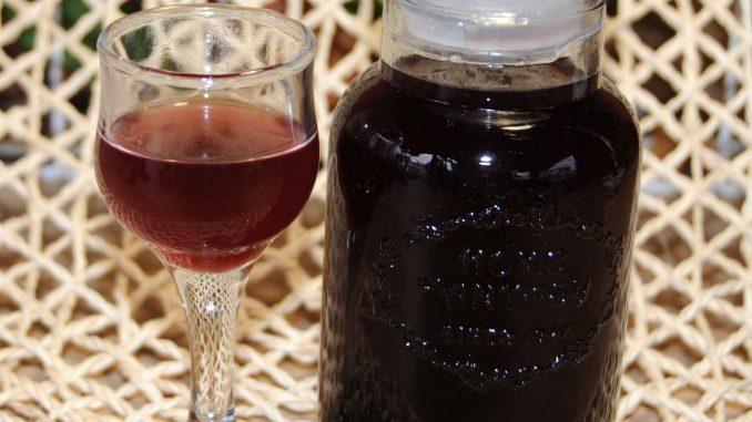 Λικέρ δίχρωμο μούρο - Liqueur two-Color Berry