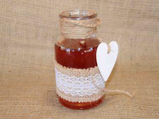 Λικέρ κόκκινα κορόμηλα - Liqueur Red Cherry Plum