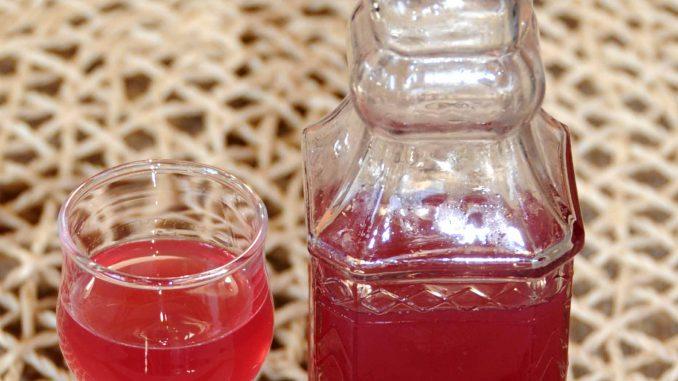 Λικέρ σταφύλι φράουλα - Red Globe Grapes with Seed Liqueur