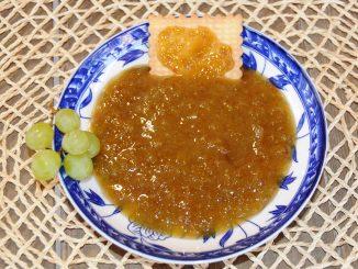 Μαρμελάδα με άσπρη σταφίδα - Green Seedless Grapes Jam