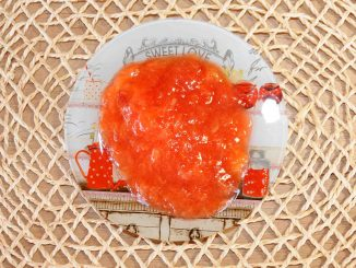 Μαρμελάδα με βανίλια φρούτο - Plum jam Photo By Thanasis Bounas