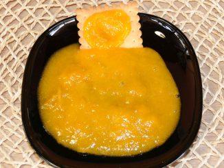 Μαρμελάδα με κίτρινα κορόμηλα και βερίκοκα - Yellow cherry plum and apricot jam