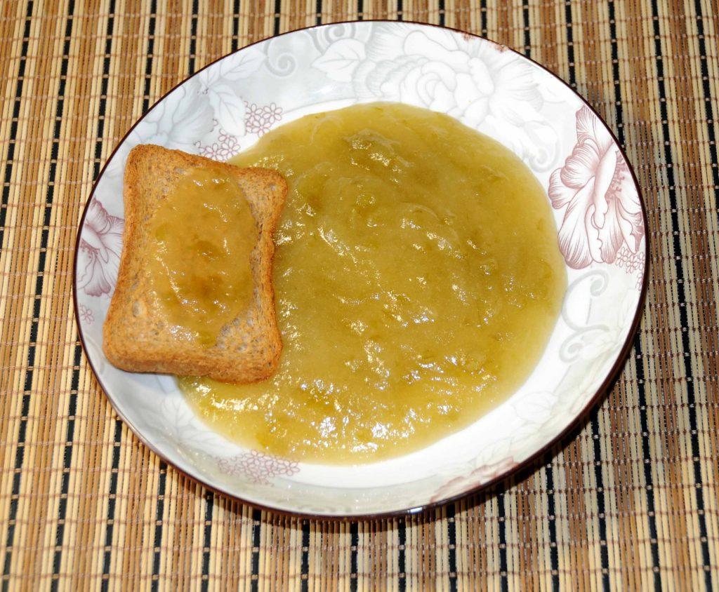 Μαρμελάδα πράσινο μήλο - Green apple jam