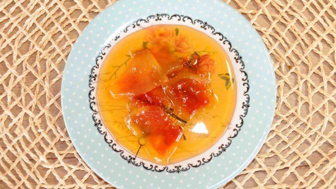 Γλυκό κουταλιού από φλούδες καρπουζιού - Watermelon Peel Preserve